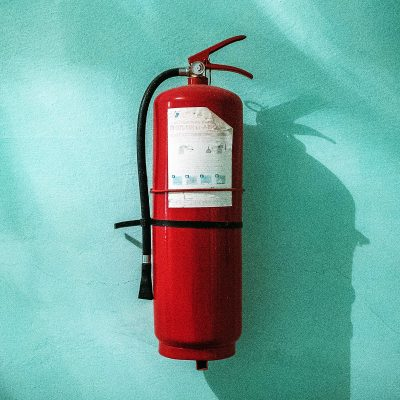 Image of a Fire Extinguisher for Safety at an Event