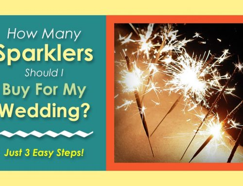 How Many Sparklers Should I Buy for My Wedding?