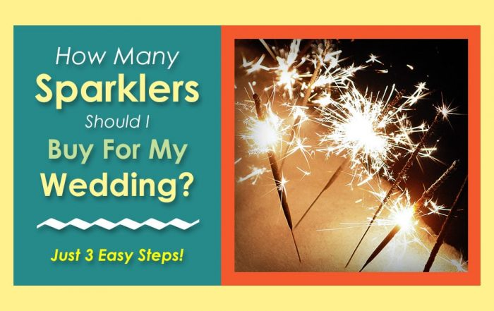 How Many Sparklers Should I Buy for My Wedding image
