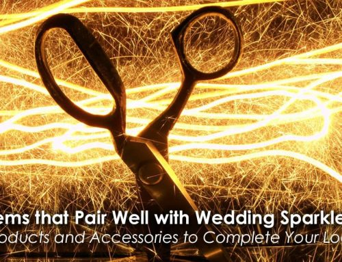 Items that Pair Well with Wedding Sparklers