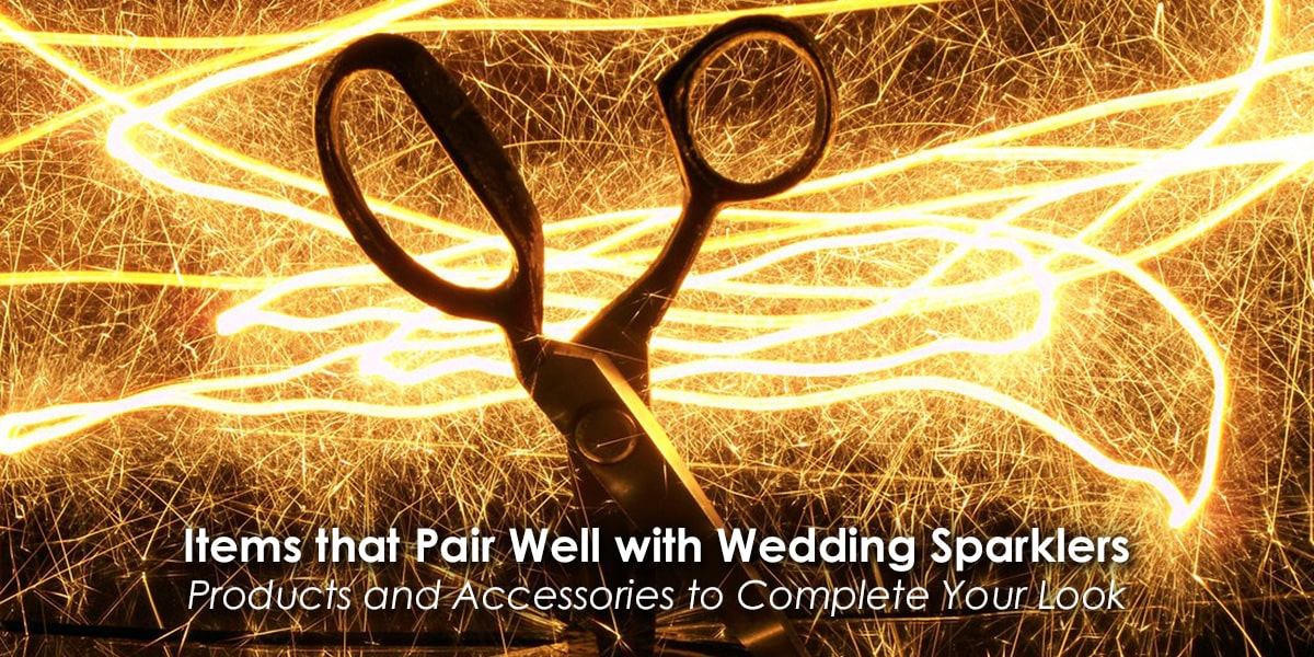 Image of Items that Pair Well with Wedding Sparklers