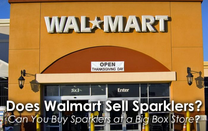 Does Walmart Sell Sparklers image