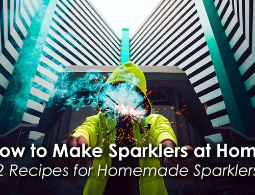 Homemade Sparklers: How to Make a Sparkler at Home