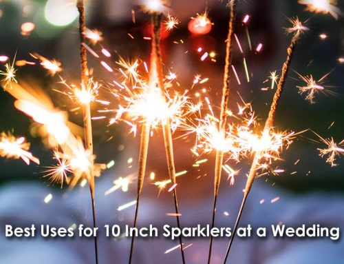 Best Uses for 10 Inch Sparklers at a Wedding