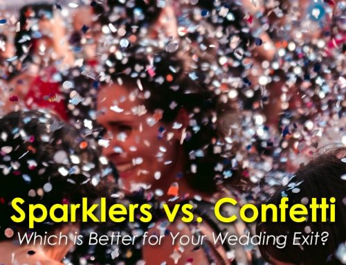 Sparklers vs. Confetti: Which is Better for Your Wedding Exit?