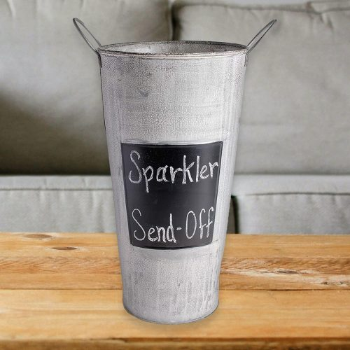 "Image of a 15"" Inch Sparkler Display Bucket"