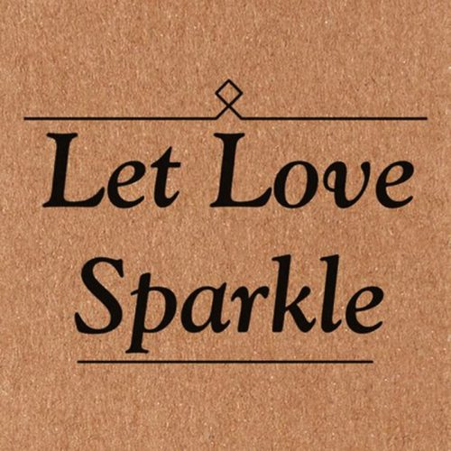 "Image of ""Let Love Sparkle"" Tags for Sparklers"