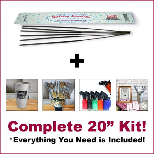 Image of Our Complete 20 Inch Sparkler Kits