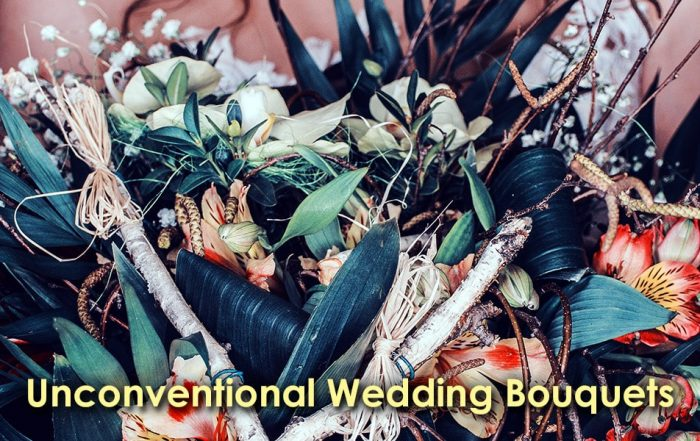 Image of Unconventional Wedding Bouquets