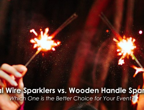 Metal Wire Sparklers vs. Wooden Handle Sparklers