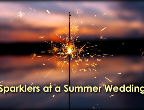 Sparklers at a Summer Wedding: Tips and Tricks