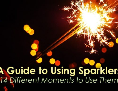 Guide to Using Sparklers: 14 Different Moments to Use Them