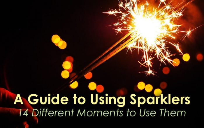 Guide to Using Sparklers image