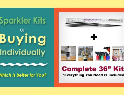 Sparkler Kits or Buying Individually: Which is Better for You?