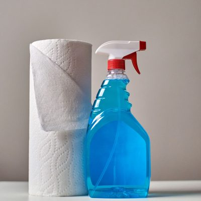 Image of a Detergent and Water Mix to Remove Stubborn Stains