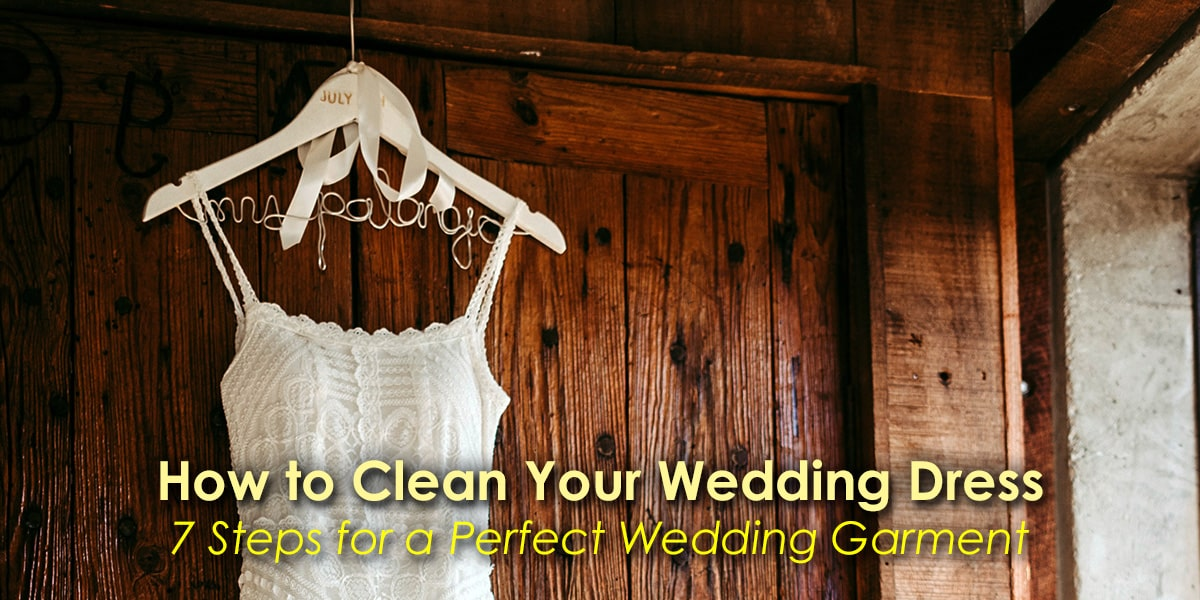 Image of How to Clean Your Wedding Dress