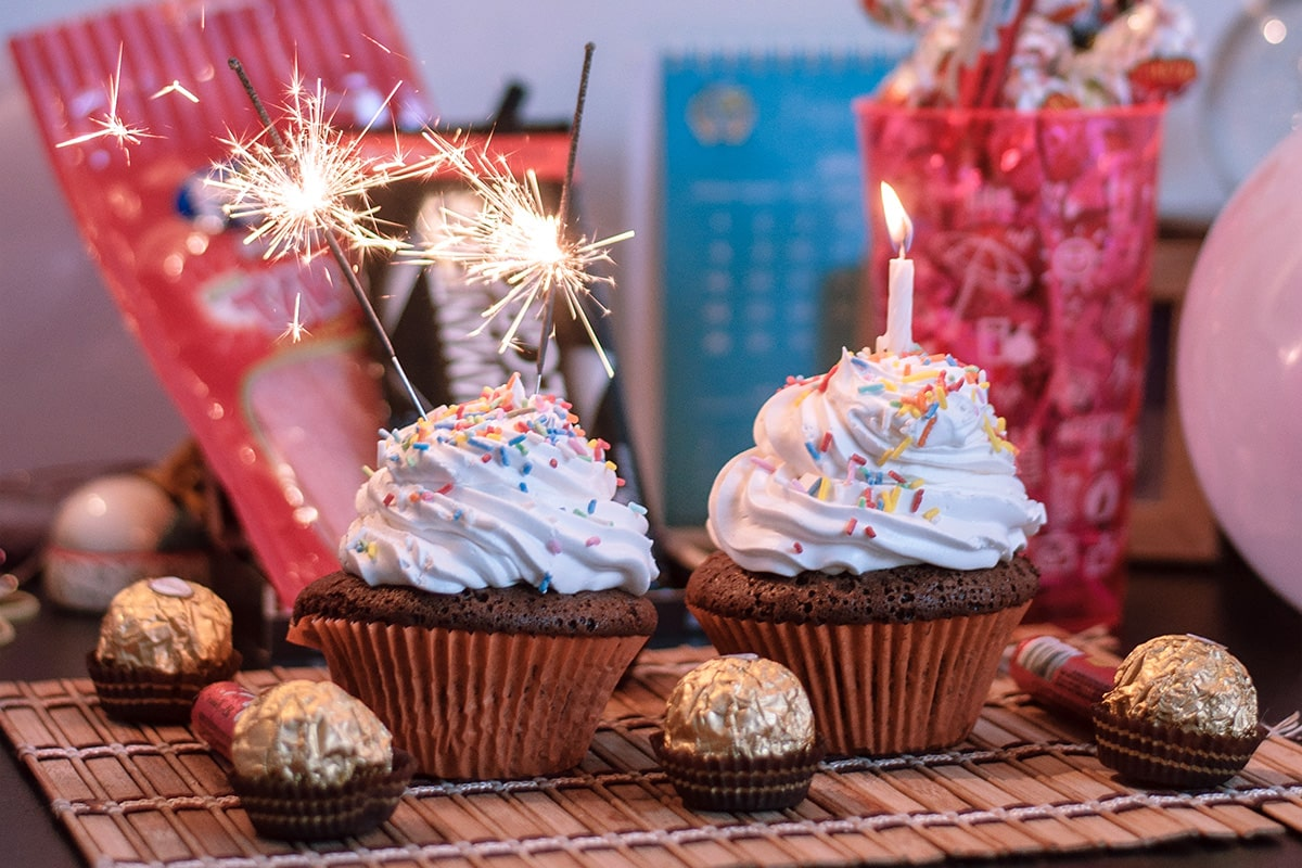 Image of Sparkling Cupcakes for Any Occasion