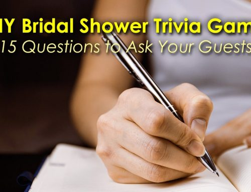 DIY Bridal Shower Trivia Game