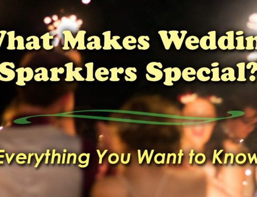 What Makes Wedding Sparklers Special?