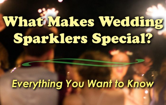 Image of What Makes Wedding Sparklers Special