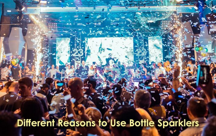 Image of Different Reasons to Use Bottle Sparklers