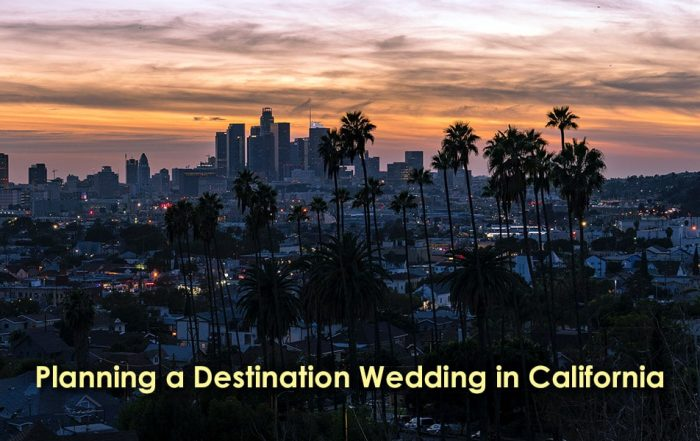 Image of Planning a Destination Wedding in California