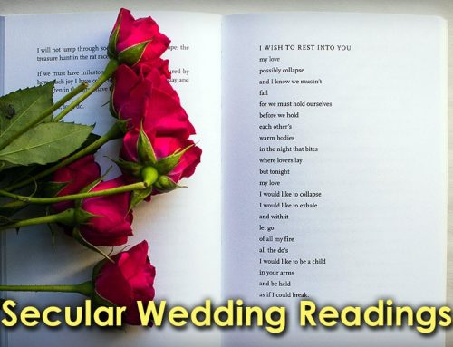 Secular Wedding Readings