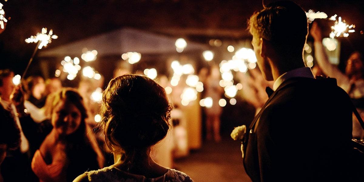 Image for Inspiration for Wedding Sparkler Send-Offs