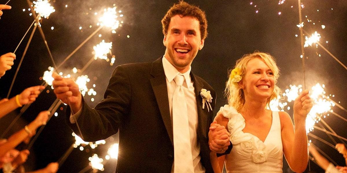 Wedding Sparkler Inspiration image