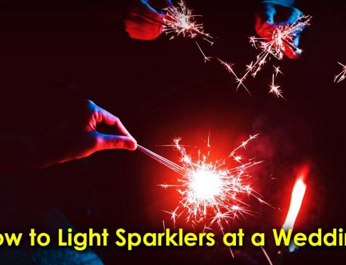 How to Light Sparklers at a Wedding