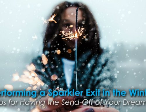 Tips for Performing a Sparkler Exit in the Winter