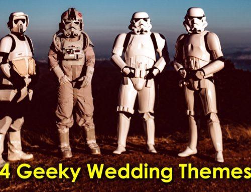 4 Delightfully Geeky Wedding Themes