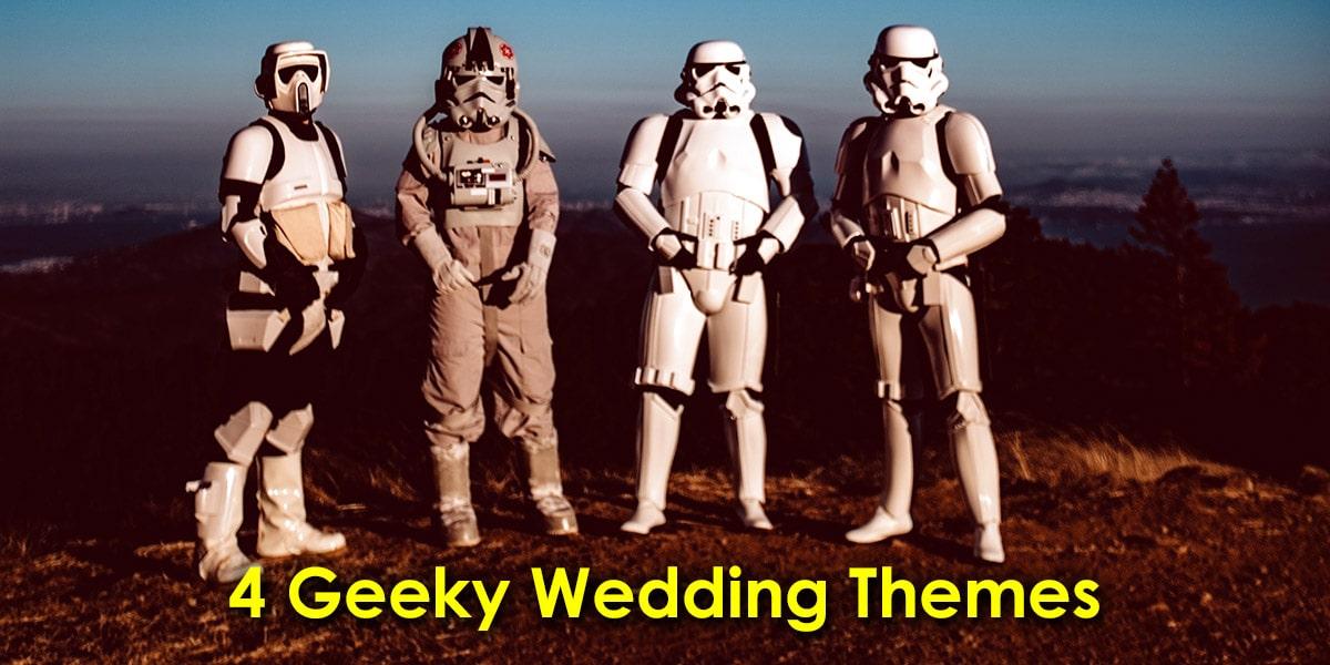 4 Delightfully Geeky Wedding Themes image