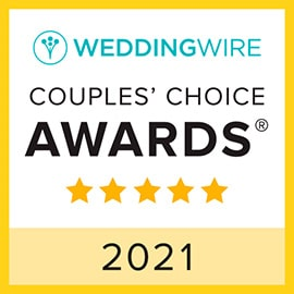 2021 Wedding Wire Couple's Choice Award