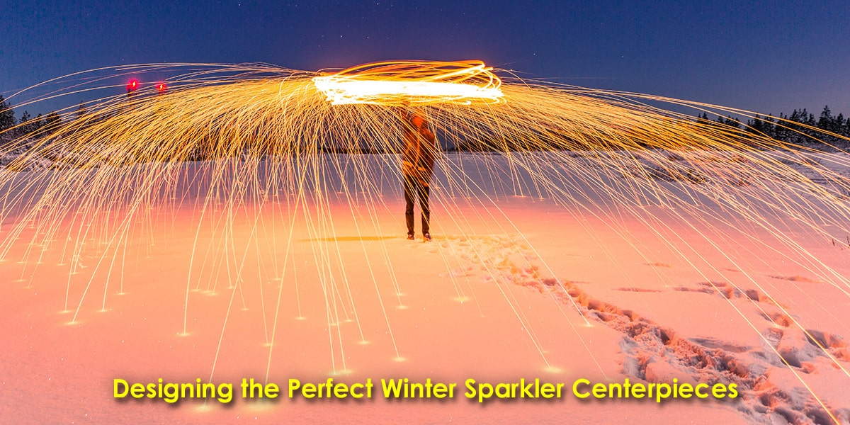 Designing the Perfect Winter Sparkler Centerpieces image