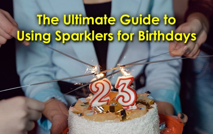 Ultimate Guide to Using Sparklers for Birthdays image