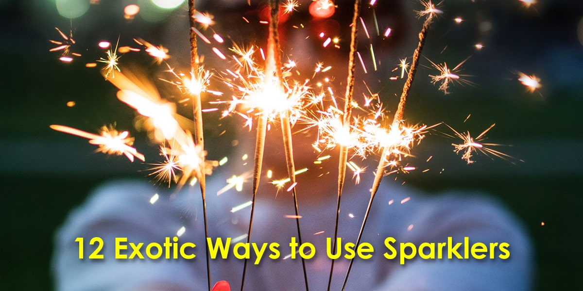 Image of 12 Exotic Ways to Use Sparklers