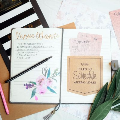 Image of an Organized Wedding Planner