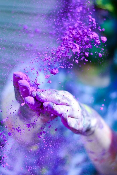 Image of Pigments Being Prepared for Color Sparklers