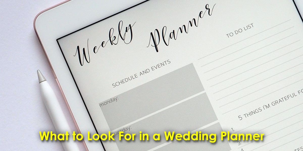 Image of What to Look For in a Wedding Planner