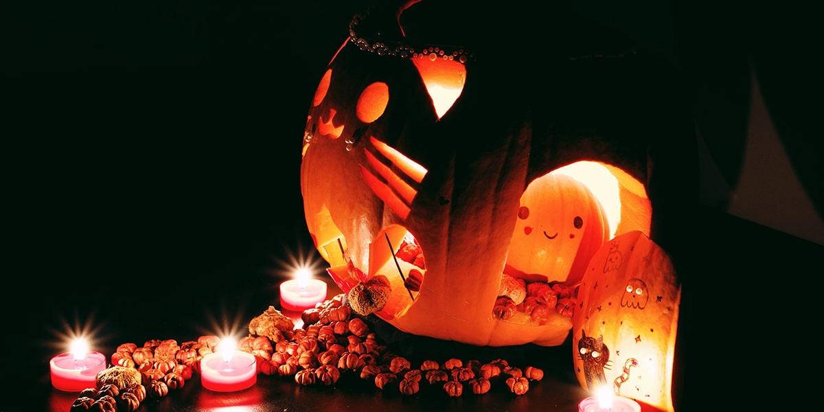 Image of When Diwali Meets Halloween