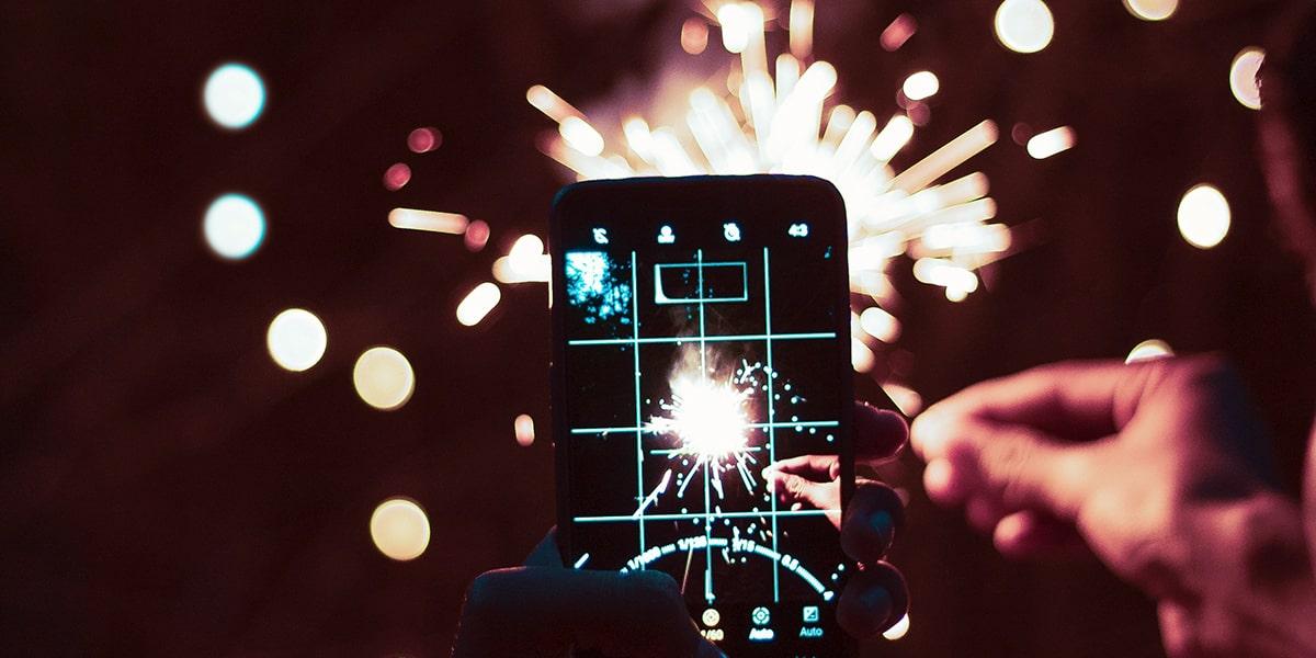 Inspiration for Sparkler Photography image