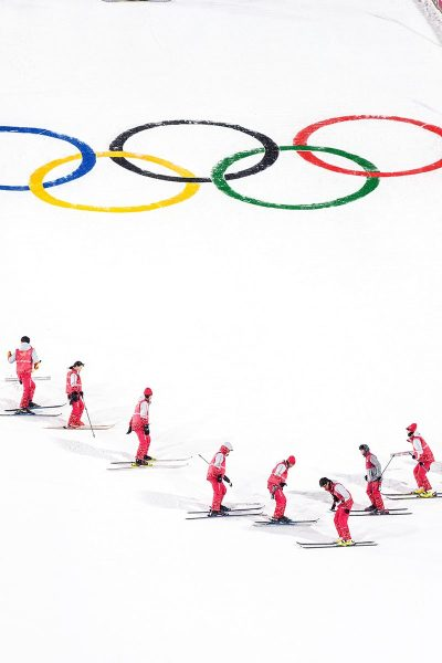 Image of Atheletes at the Olympic Games