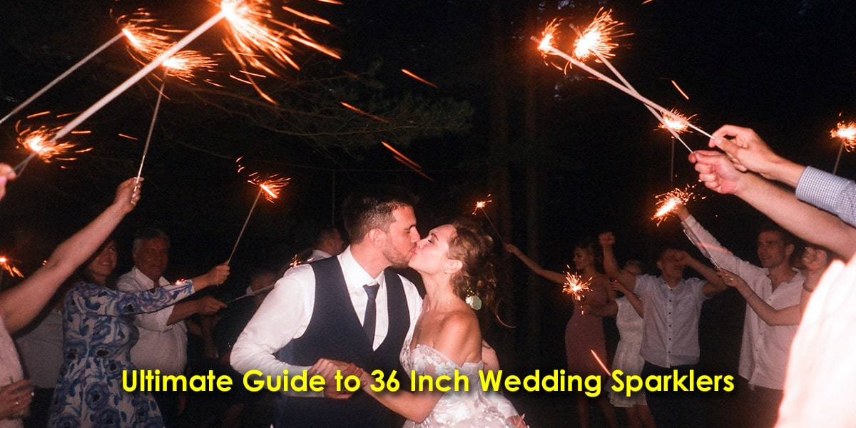 Ultimate Guide to 36 Inch Wedding Sparklers image