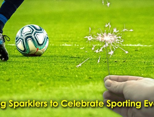 Using Sparklers to Celebrate Sporting Events