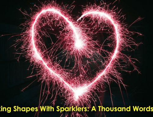 Making Shapes with Sparklers: A Thousand Words #10
