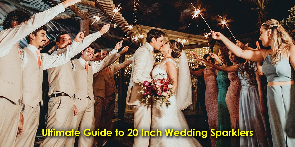 Ultimate Guide to 20 Inch Wedding Sparklers image