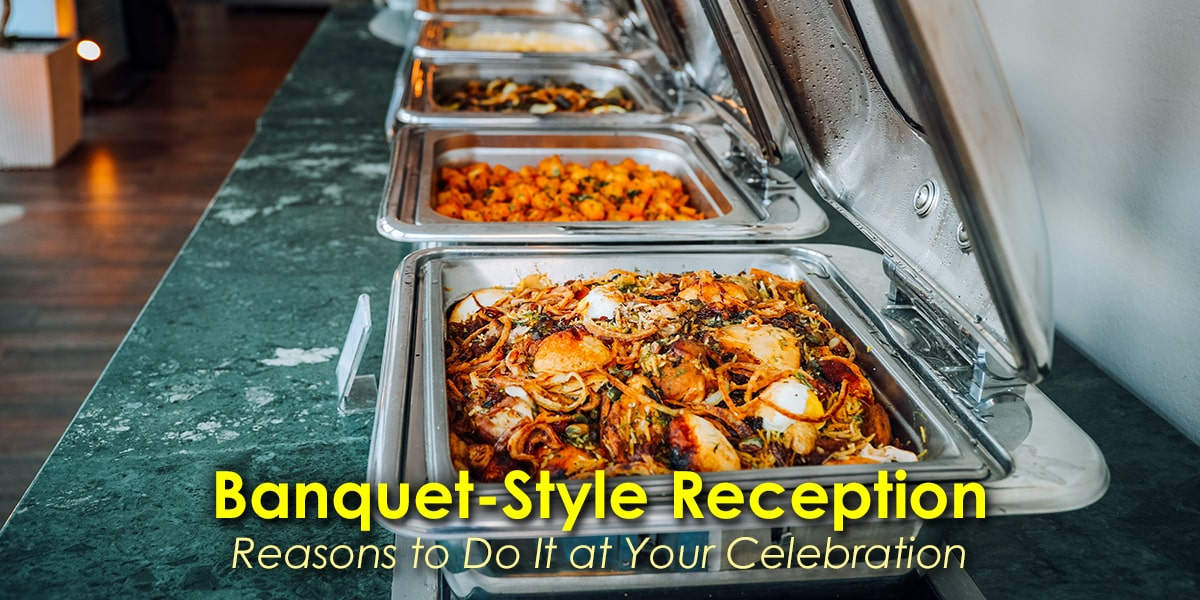 Image of a Banquet-Style Reception