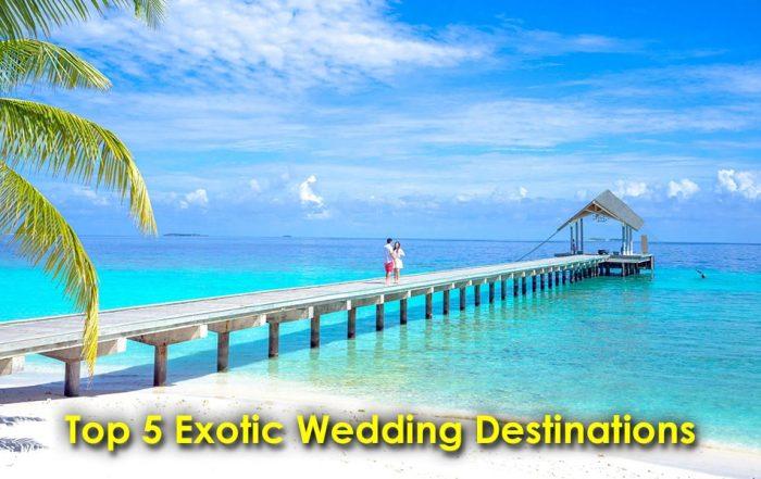 Image of Exotic Wedding Destinations
