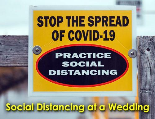 Social Distancing at a Wedding